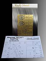 Набор фототравления для деталировки модели самолета  Боинг 787-8 Дримлайнер. 1/144 METALLIC DETAILS MD14404