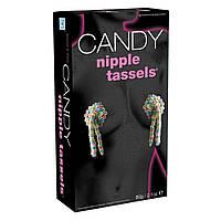 Съедобные пэстисы на соски Candy Nipple Tassels (60 гр). Съедобное белье
