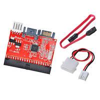 Переходник SATA - IDE, IDE - SATA двусторонний адаптер