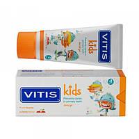 VITIS KIDS гель-паста для дітей, зі смаком вишні, 50 мл