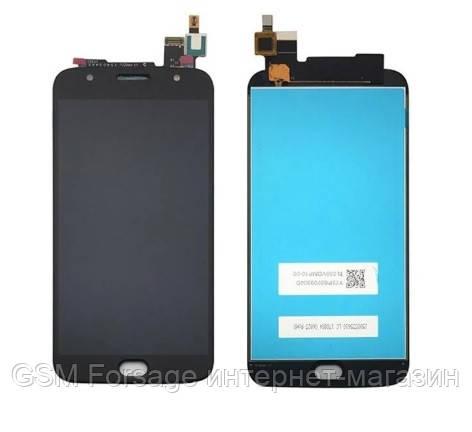 Дисплей Motorola XT1803 / XT1805 Moto G5s Plus complete with touch Black