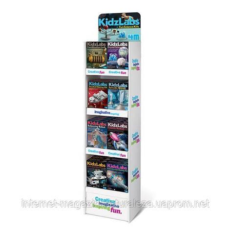 Стеллаж 4M для 32 наборов серии Kidz Labs (00-05039), фото 2