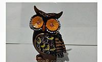Денежная сова фэн - шуй, символ мудрости и благополучия, высота 10 см.