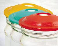 Вакуумные крышки для консервации и долгого хранения продуктов, в наборе 6 шт., фото 1