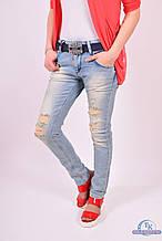 Джинсы Бойфренды женские с поясом DSQUARED 4067 Размер:29,30