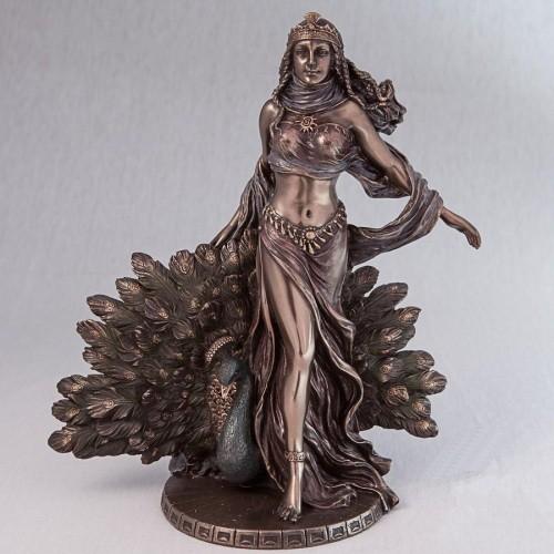 """Статуэтка """"Гера"""" из полистоуна Veronese с бронзовым напылением размер 16 см"""