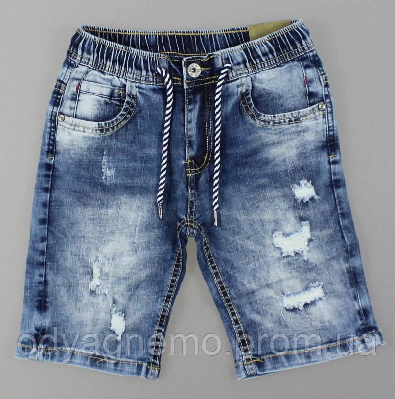 Джинсовые шорты для мальчиков S&D, 4-12 лет. Артикул: FS35