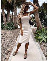 Женское летнее платье силуэтное Новинка 2020