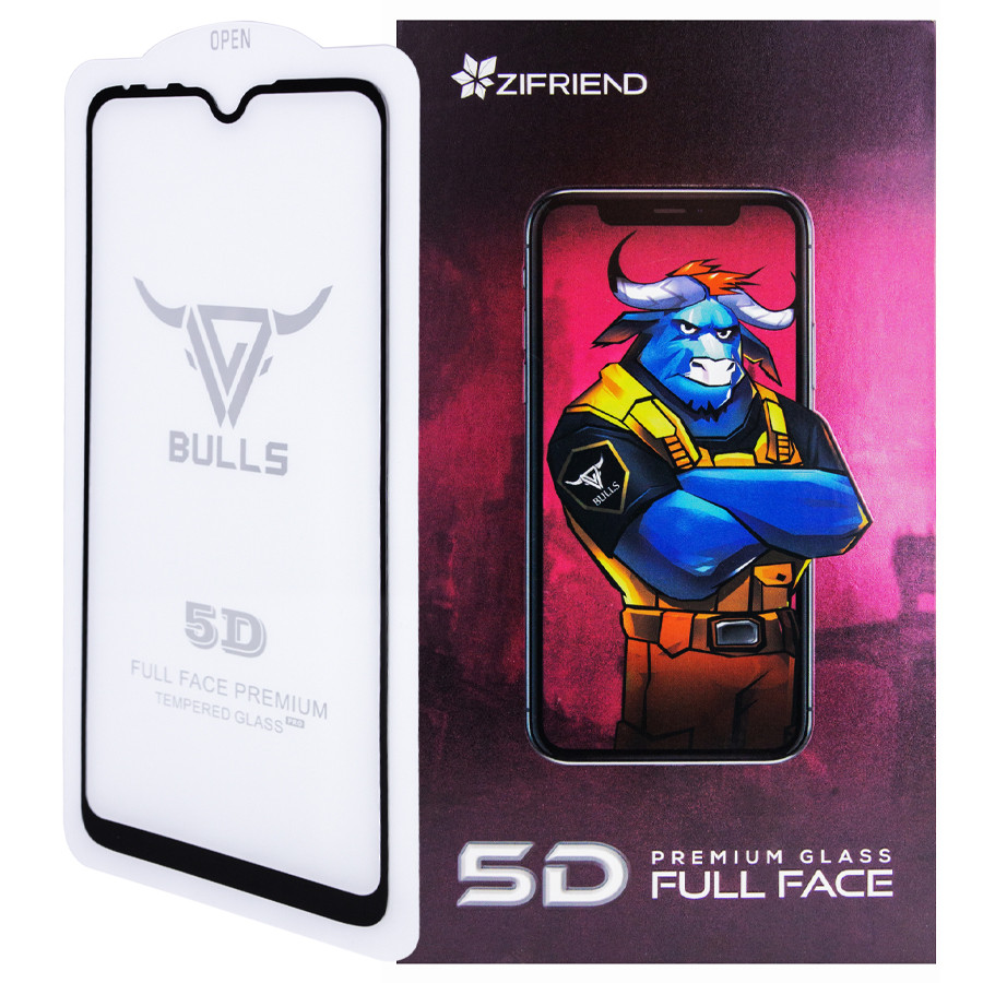 Защитное стекло Zifriend 5D (full glue) для Xiaomi Mi A3 (CC9e)