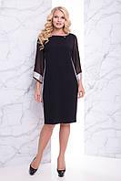 """Женское нарядное платье черное """"XL"""" (19646.1.1)"""