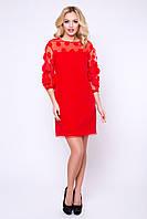 """Женское нарядное платье красное """"XS"""" (19722.1.1)"""