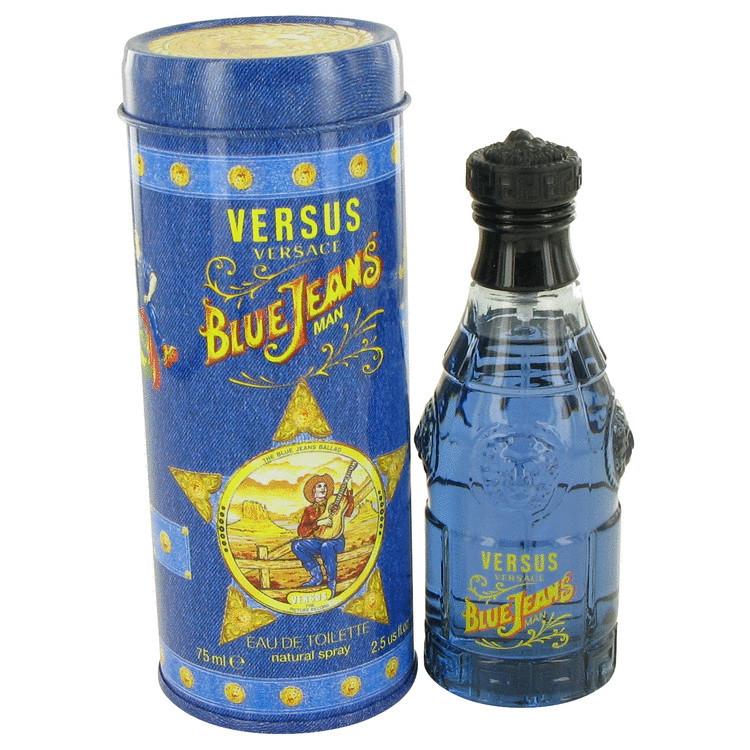 Туалетная вода для мужчин (Новая упаковка) Blue Jeans от Versace Cologne 75 ml (Оригинал)