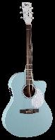 Электро-акустическая гитара CORT Jade Classic (Sky Blue Open Pore)