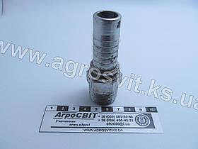 """Штуцер AGR-K 3/4""""-14  (под шланг dу=20 мм.)"""