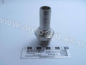 """Штуцер AGJ 1.5/16""""-12  (под шланг dу=20 мм.)"""