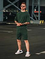 Футболка оверсайз + шорты. Футболка реглан. Стильный мужской комплект., фото 1