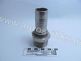 """Штуцер AGR-K 1.1/2""""-11  (под шланг dу=32 мм.)"""