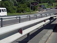 Дорожное ограждение оцинкованное 11ДО-2 (4мм)