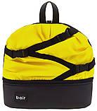 Коляска 2 в 1 Bair Future FF-03 черный-желтый, фото 7
