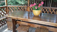 Деревянная мебель для беседок и мангалов в Бердичеве от производителя
