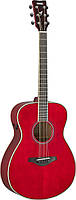 Электро-акустическая гитара TransAcoustic YAMAHA FS-TA (Ruby Red)