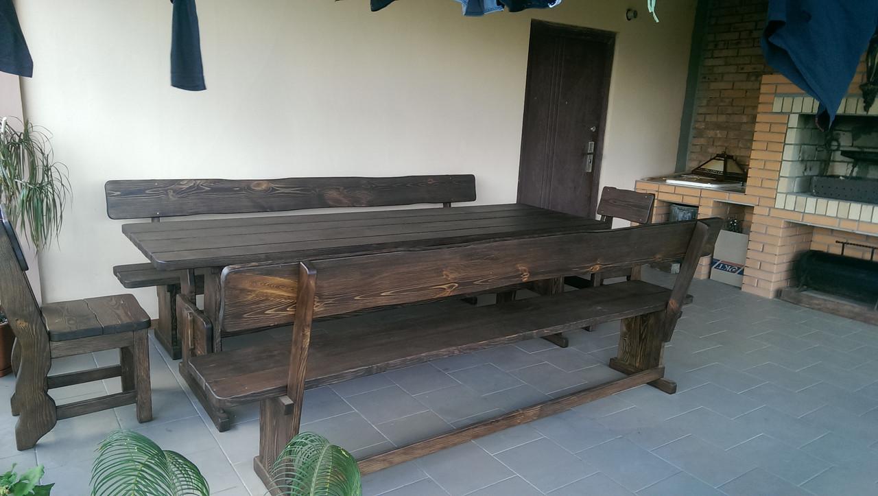 Деревянная мебель для беседок и мангалов в Белой Церкве от производителя