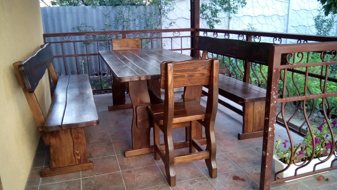 Деревянная мебель для беседок и мангалов в Могилёв-Подольске от производителя