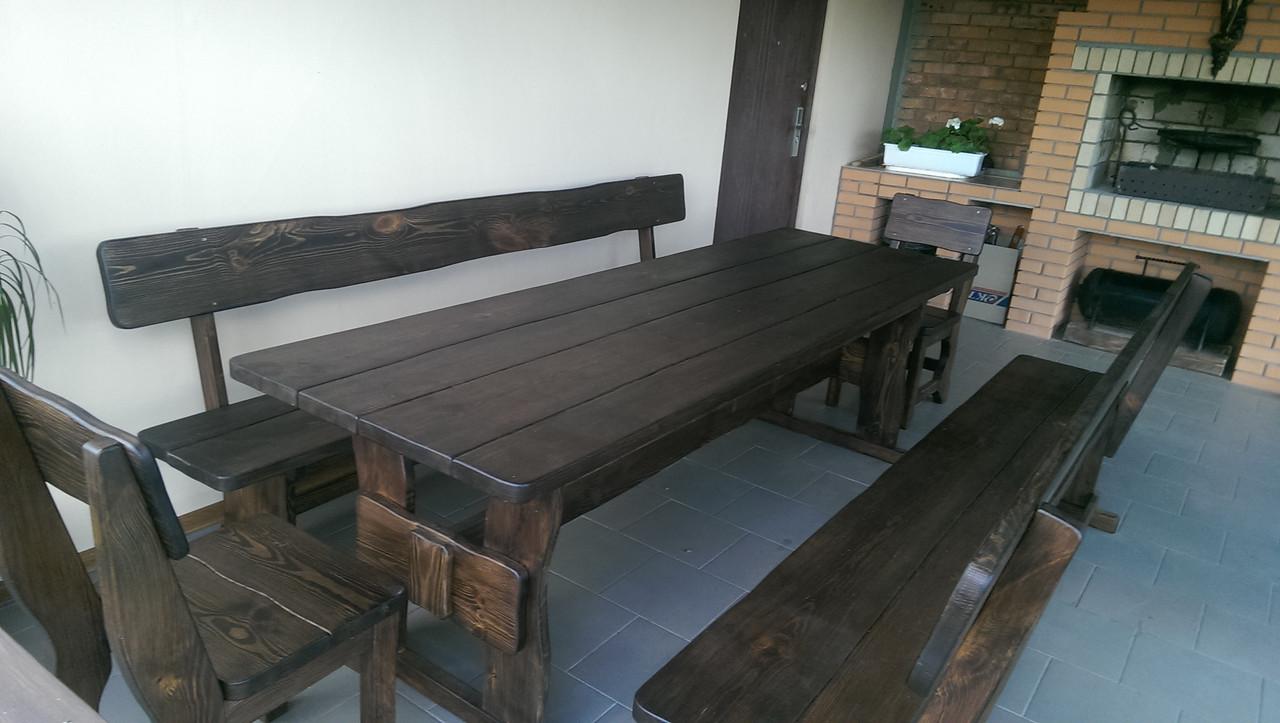 Деревянная мебель для беседок и мангалов в Южном от производителя