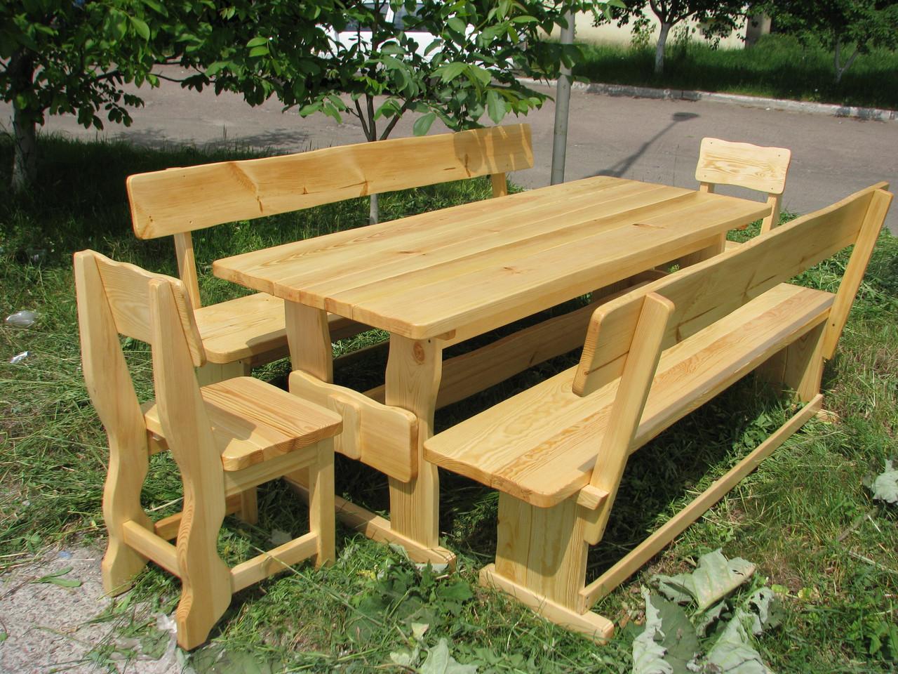 Деревянная мебель для беседок и мангалов в Павлограде от производителя