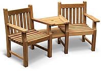 Лавочка скамья со спинкой 1850 х 820 мм от производителя Garden park bench 20