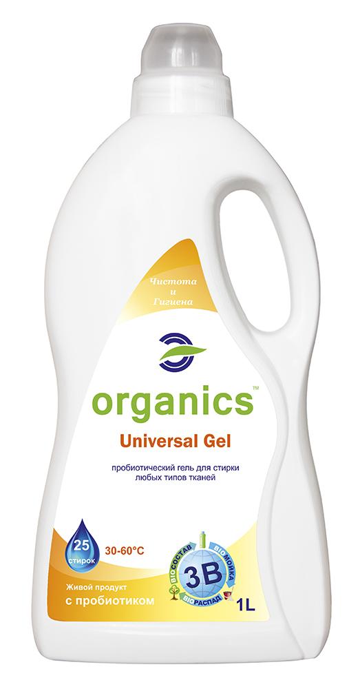 Гель для стирки универсальный Organics 1л