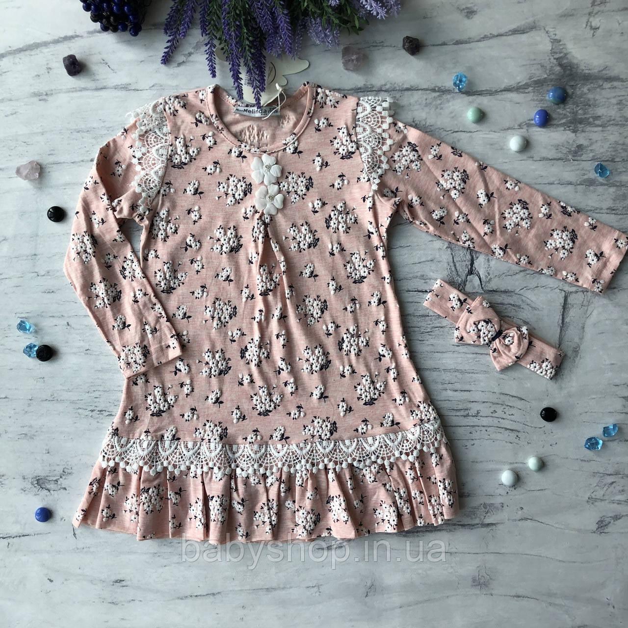 Платье на девочку 207. Размер 116 см, 122 см, 128 см