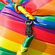 Надувной гамак Ламзак Air Sofa Rainbow (009755), фото 6