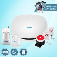 GSM-сигнализация Kerui  W19  для охраны дома, магазина. гаража.