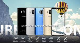 """Смартфон M-Horse Pure 1 серебряного цвета - 5.7"""" 3/32 Gb, 4380 mAh, Android 7 металл! Телефон Акция!"""