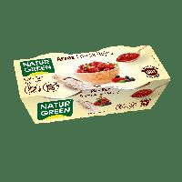 Органический десерт из риса с красными ягодами 125г Ecomil Junimed