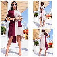 Универсальное летнее платье для создания романтичных образов, р.52,56 код 3510М