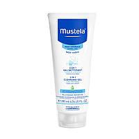Очищаючий гель для волосся і тіла 2 в 1, 200 мл   2 in 1 cleansing gel Mustela
