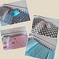 Постельный комплект в детскую кроватку, фото 1
