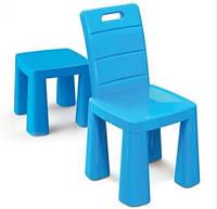 Детский стульчик пластиковый стул-табурет 2в1 Doloni