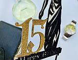 Топпер на торт Феміда з індивідуальною цифрою | Топпер для юриста | Топпер для правознавця, фото 9