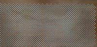 Панель (решетка) декоративная перфорированная, 1390 мм х 680 мм Роял, Венге