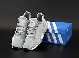 Мужские кроссовки Adidas NMD R1 V2 Grey (Адидас НМД серые)