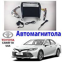 Магнитола Toyota Camry 50 2012-2014 USA Автомагнитола  (М-ТКам-10)