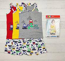 Комплект детского белья: 9-10 лет, боксерки + майка для мальчиков  655816127125