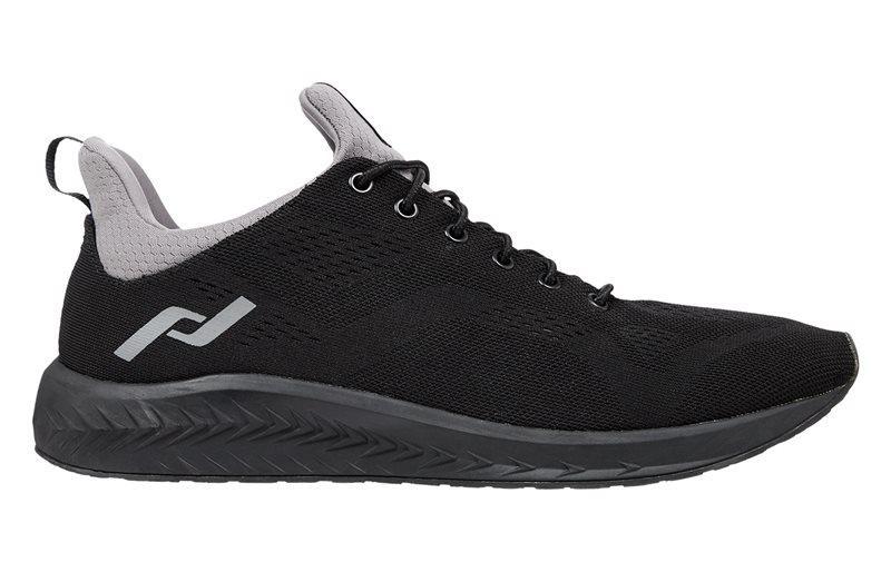 Оригинальные черные кроссовки на черной подошве Pro Touch OZ 1.0