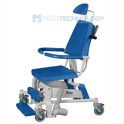 Электроприводное кресло для душа Zido