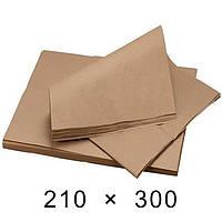 Крафт-папір в аркушах 40 грам - 210 мм × 300 мм / 1000 шт