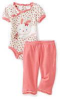 """Детский костюм (боди с корот. рукавом +штанишки) """"Baby Grand"""". Размер:3-6 мес.,6-9 мес., фото 1"""