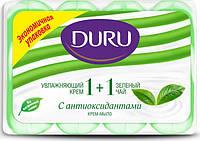Крем-мыло Duru 1+1, с антиоксидантами (4 шт х 90 г)